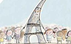 Pháp in tranh giải thích khủng bố Paris cho học sinh