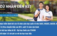 Đại học Quốc gia TP.HCM tuyển sinh Cử nhân quốc tế