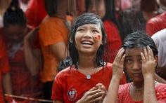 Sắc màu ở Yangon