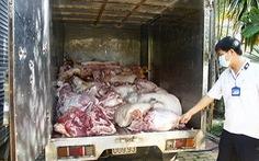 Tuồn 5 tấn thịt heo thối tẩm hóa chất vào chợ công nhân