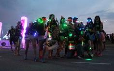 6.000 bạn trẻ chạy bộ đêm Prisma the night run 2015