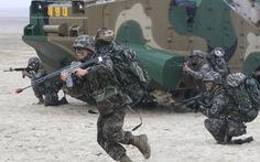 Hàn Quốc tập trận bắn đạn thật gần biên giới biển