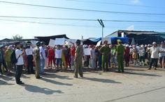Người dân chợ Phú Hậu phản đối di dời chợ