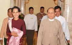 Quân đội và Tổng thống Myanmar hợp tác với bà Aung San Suu Kyi