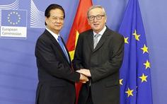 Kết thúc đàm phán Hiệp định thương mại tự do VN - EU