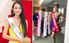 Hoa hậu và điệp khúc: thi chui - nhận giải - nộp phạt