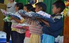Ba tấn áo ấm tặng đồng bào vùng cao Tây Nguyên