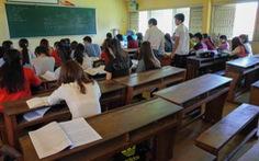 Nhiều giáo sinh bỏ học vì sợ không có việc làm