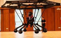 NUS chế tạo thành công drone chở ngườiSnowstorm