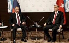 Hủy cuộc gặp thượng đỉnh Putin -Erdogan