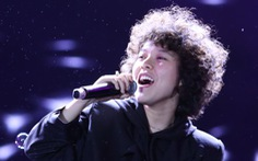 Clip Tiên Tiên hát Say you do đêm trao giải Làn Sóng Xanh