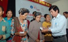 7.000 bà con cận nghèo đuợc bảo hiểm y tế miễn phí