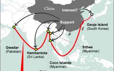 """Trung Quốc từng tính nối dài """"chuỗi ngọc"""" đến Hàn Quốc"""