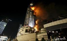Khách sạn 63 tầng ởDubai cháy kinh hoàng trước giao thừa
