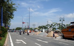 Hoàn thành mở rộng nút giao thông An Phú