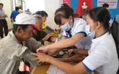 Hơn 3,3 triệu người nghèo được khám bệnh
