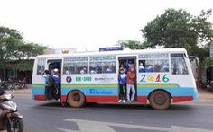 Đắk Lắk: Nhà xe vi phạm, học sinh lúng túng