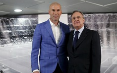 Real sa thải HLV Benitez, Zidane thay thế