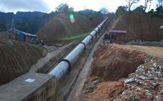 Đường Trường Sơn Đông tê liệt vì thủy điệnĐắk Lô