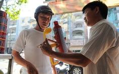 Bình chữa cháy xe hơi 1 kg vọt lên 250.000 đồng/bình