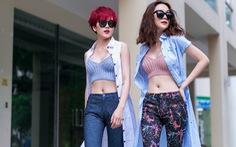Song Thiều cá tính cùng thời trang street style