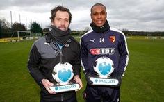 Điểm tin tối 15-1:Watford đoạt cú đúp giải thưởng tháng 12