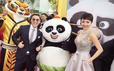 Angelina Jolie, Tóc Tiên xuất hiện ra mắt Kungfu Panda 3