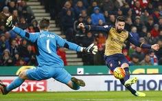 Điểm tin sáng 18-1: Arsenal hòa thất vọng trước Stoke City