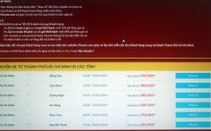 Doanh nghiệp bán vé xe tết qua mạng xin lỗi khách hàng