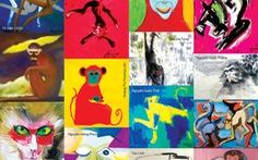 Tết Bính Thân, xem 15 họa sĩ vẽ khỉ