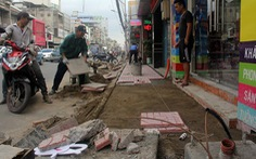 Xử phạt 19 nhà thầu đào đường bê bối
