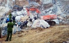 Khởi tố vụ án liên quan đến vụ sập mỏ đá, 8 người chết