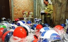 Phát hiện 2.000 mũ bảo hiểm giả các thương hiệu nổi tiếng