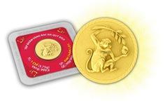 Săn Khỉ vàng làm quà tặng Tết Bính Thân
