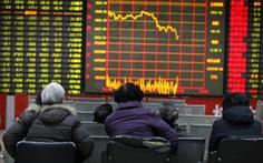 Chứng khoán Trung Quốc mất 1.800 tỉ USD
