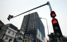 Hà Nội cưỡng chế phá dỡ công trình sai phép 8B Lê Trực