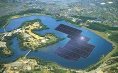Nhật xây dựng trang trại Mặt trời trên mặt nước