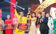 Thu Trang - Hữu Quốc đoạt quán quân Tài tử tranh tài