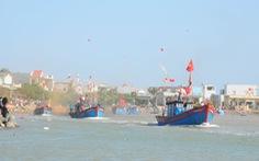 Đầu năm hàng trăm thuyền cá Quảng Ngãi tiến ra biển Đông