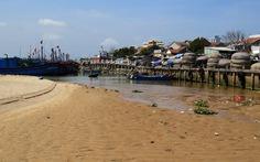 Cửa biển Đà Rằng bị bồi lấp nặng