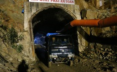Một công nhân chết tại hầm thủy điện Đạ Dâng