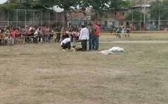 Cầu thủ bắn chết trọng tài sau khi bị phạt thẻ đỏ