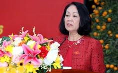 Bà Trương Thị Mai làm trưởng Ban Dân vận trung ương