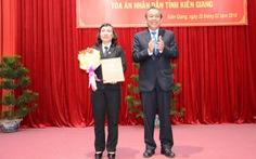 Trao quyết định bổ nhiệm Chánh án TAND tỉnh Kiên Giang