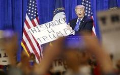 Ted Cruz bám đuổi Trump, Clinton bỏ xa Sanders