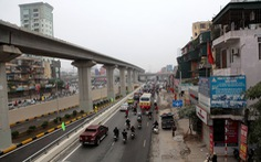 Đường sắt Cát Linh - Hà Đông chậm tiến độ vì thiếu tiền