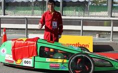 11 đội sinh viên VN thi xe tiết kiệm nhiên liệu Châu Á