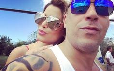 Hoa hậu Colombia tình tứ vớiVin Diesel khiđóng phim xXx