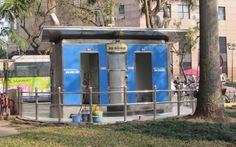 Nhà vệ sinh công cộng giữa thủ đô: vừa bẩn, vừa thiếu