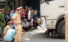 Tài xế xe tải tông hai mẹ con chết thảm bị tước bằng lái từ trước